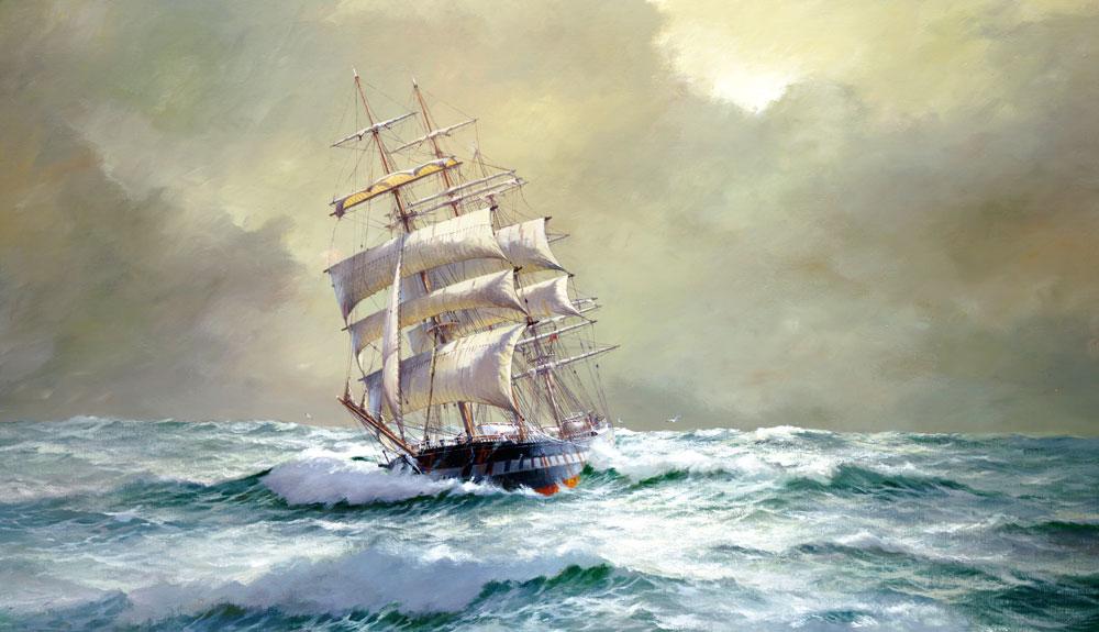 IAN HANSEN MARINE ARTIST, renowned Australian maritime ...